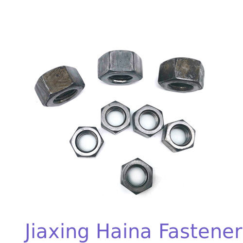 Custom Heavy Iron Hex Head Nuts , Stainless Steel Hex Nut A2 - 70 / 80