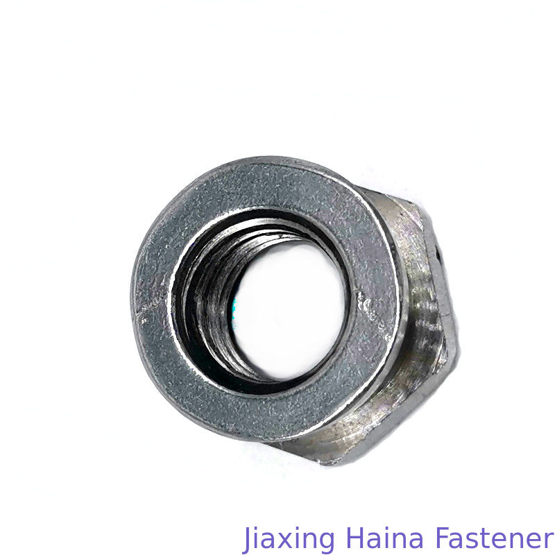 Longlife M8 Hex Head Nuts , Breaks Away Safety Shear Nut Passication Finish