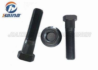 Auto M22 Truck Front Wheel Hub Bolt with Black Phosphating for Scania