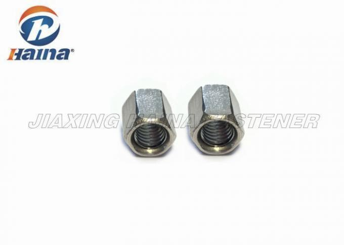 A4 70 Stainless Steel Hex Head Nuts Plain Color For Agricultural Electronics