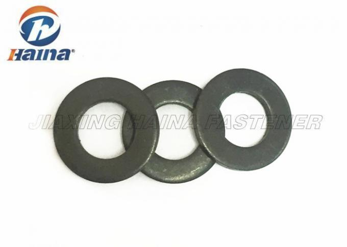 Black Oxide Stainless Steel Washers Round Head Grade 4.8 For Bearing Plates