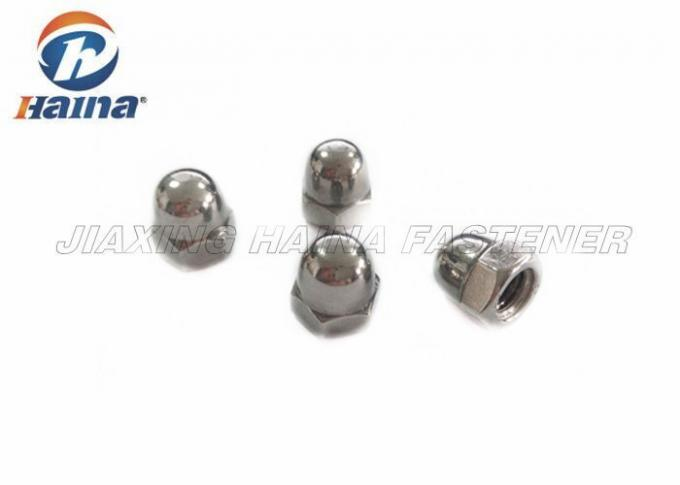 Nuts Hex Domed Cap Nuts DIN 1587 , Stainless Steel Acorn Cap Nuts M12 A2