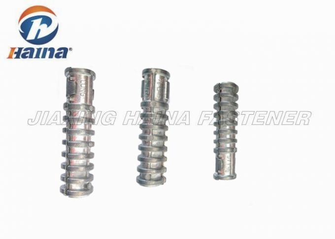 "Zinc Alloy Short Type Lag Screw Shield Anchor 1/4X1"" 3/8x1-1/2"" ANSI Standard"
